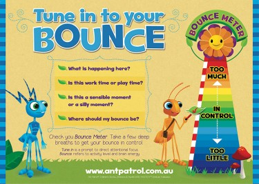 Tune in to Your Bounce Poster