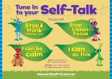 Self-talk Poster