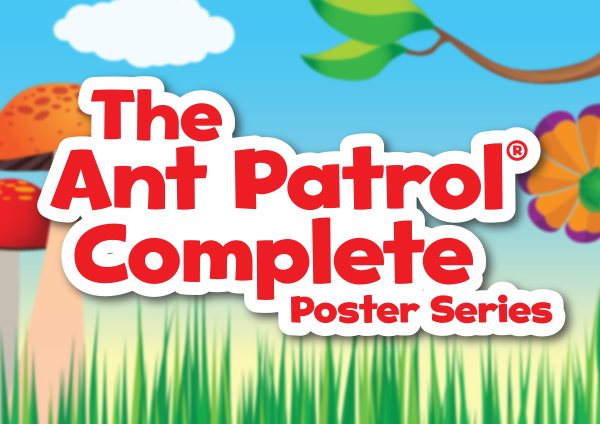 The Ant Patrol Complete Poster Series
