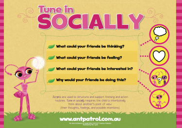 Tune in Socially Poster
